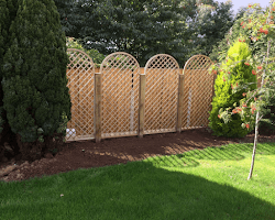 Wooden Arched Fencing